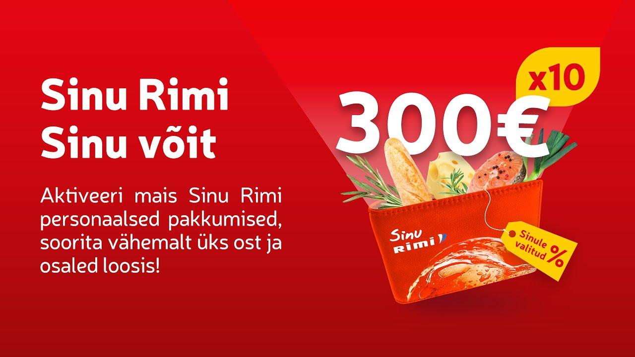 🙌 Võida 300 € toiduraha