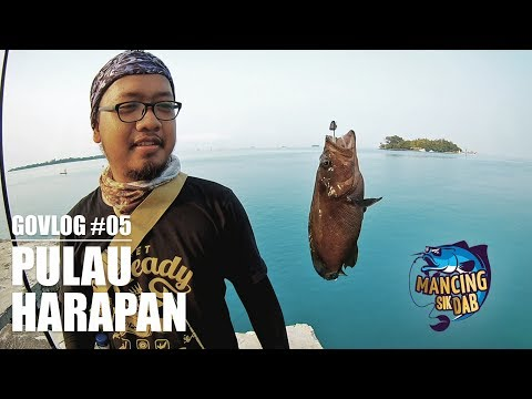 #GOVLOG : Msd eps 05 - Mancing di Pulau Harapan - Ultralight Fishing