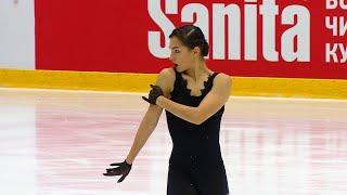 Станислава Константинова Короткая программа Кубок России 2020 21 Четвертый этап