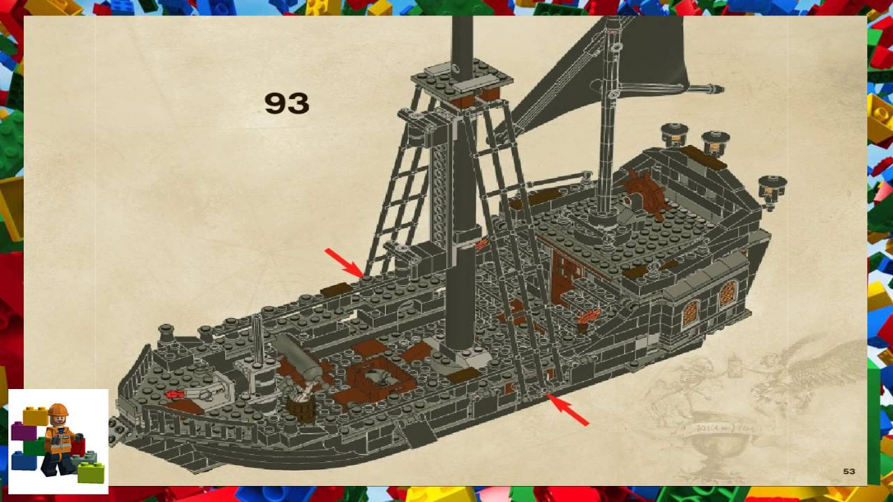 LEGO instructions - Pirates of the Caribbean ™ - 4184 - The Black ...