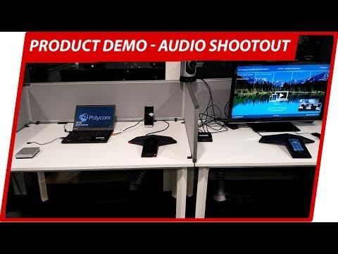 Polycom Conference Phone Audio Comparison - Trio & VoxBox