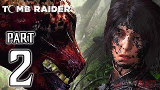 SHADOW OF THE TOMB RAIDER Walkthrough PART 2 No Commentary @ 1080p (60ᶠᵖˢ) ✔