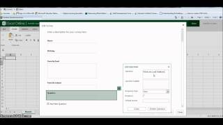 How to Create a Survey using Excel Survey