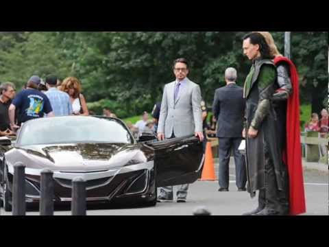 2012 Acura Nsx Roadster From The Avengers Futuro Nsx