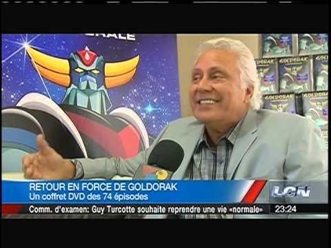 Goldorak DVD TVA News