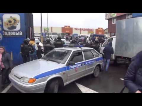 Полицейская облава на