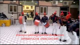 Indian Army Band Pipe & Drums Bagpiper fouji in BHATINDA INDIA +91 094633 61944