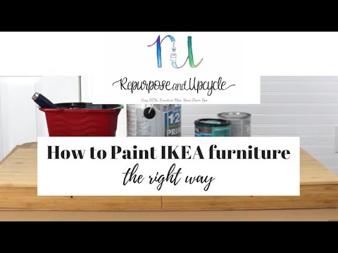 Painting Ikea Furniture