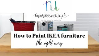 Painting Ikea Furniture The Right Way The First Time With This Easy Trick