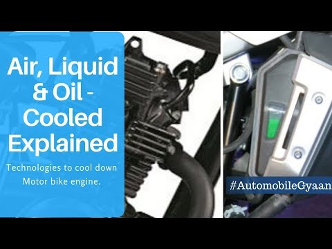 Air, Oil & Liquid-cooled engine explained !!