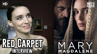 Rooney Mara - Mary Magdalene Red Carpet Interview