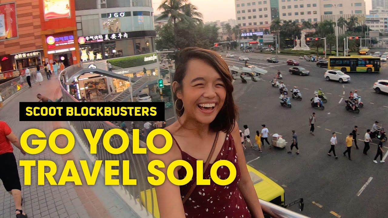 Go Yolo, Travel Solo – Scoot