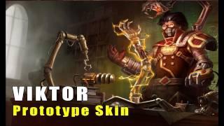 League of Legends: Prototype Viktor Skin Artwork