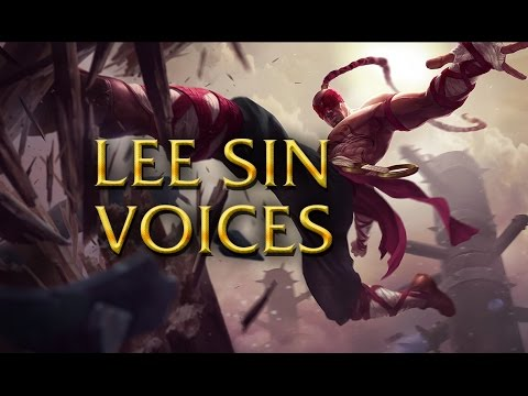 LoL Voices - Lee Sin - All 17 languages