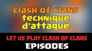 clash of clans-Technique d'attaque pour HDV 6 !