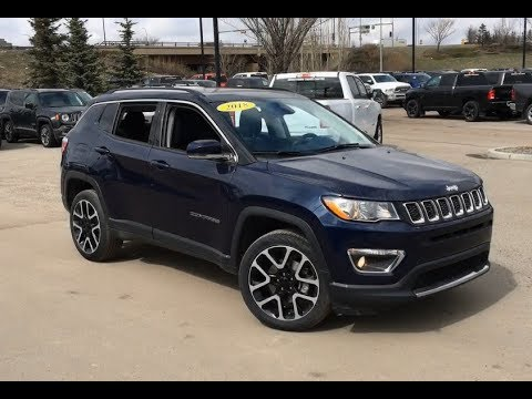 2020 Jeep Compass Limited Jazz Blue