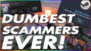Trolling The DUMBEST CS:GO Scammers I've Ever Met...