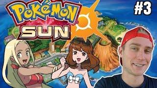 Pokemon SUN (odc. 3) - GORĄCA PLAŻA W MIEŚCIE HAU'OLI