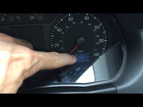 How to reset mileage tripometer VW Polo MK4