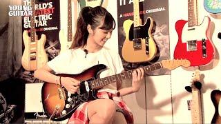 """乃木坂46の川村真洋がチャレンジ! """"ギター・ヒロインへの道""""(略してギタヒロ!)第一歩は、今後の道のりを共にする""""相棒""""であるギター..."""