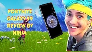 Ninja First Ever Galaxy S9 Fortnite Gameplay and Galaxy Skin (22AUG2018)
