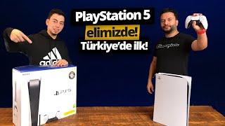 PlayStation 5 kutu açılımı! - Türkiye'de ilk🇹🇷