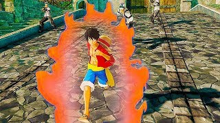 One Piece: World Seeker - FIRST Gameplay Demo (Open World Game) 2018