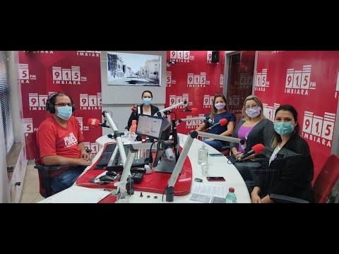 Entrevista Agosto Lilás no Imbiara Notícias FM 91,5