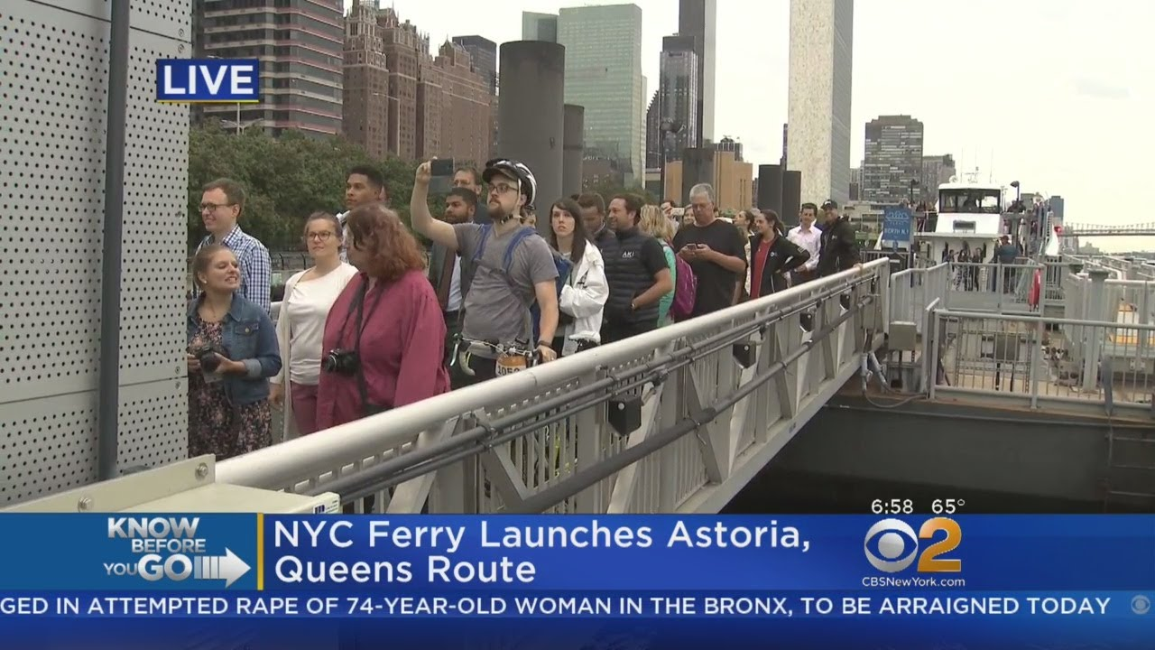 NYC Ferry Launches New Route Connecting Astoria To Manhattan