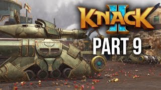 KNACK 2 Walkthrough Part 9 - KNACK IN A TANK  - Chapter 8 (PS4 Pro 60fps Gameplay)