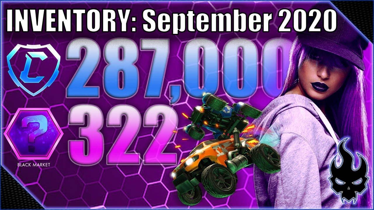 Black Market Heaven (September 2020 Inventory) - Rocket league - Xbox One