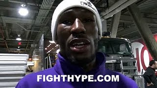ROBERT EASTER TELLS MIKEY GARCIA HE'LL FIGHT HIM AT 135 OR 140; PLANS TO SCOUT HIM VS. LIPINETS