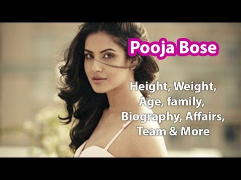 Pooja Bose Age, Height, Weight, Family, Affairs & Wiki
