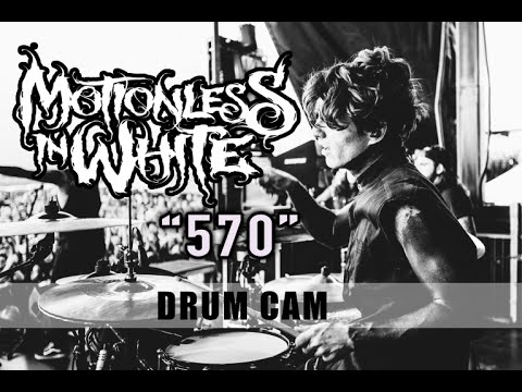 Motionless In White | 570 | Drum Cam (LIVE)