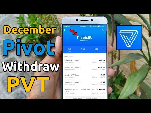 Pivot app PVT balance december withdraw | PVT balance withdraw prediction and pivot super agent