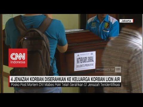 Empat Jenazah Diserahkan ke Keluarga Korban Lion Air JT-610 Mp3