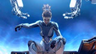 Lab Rat: Kerrigan Teaches Valerian Mengsk a Zerg Lesson (Starcraft 2: Heart of the Swarm)
