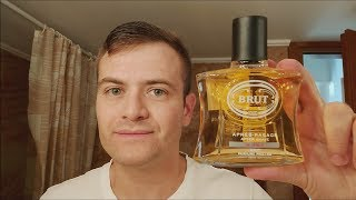 Brut Musk aftershave review