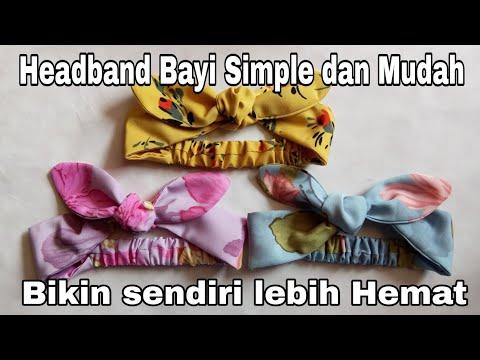 Diy Headband Cara Membuat Bando