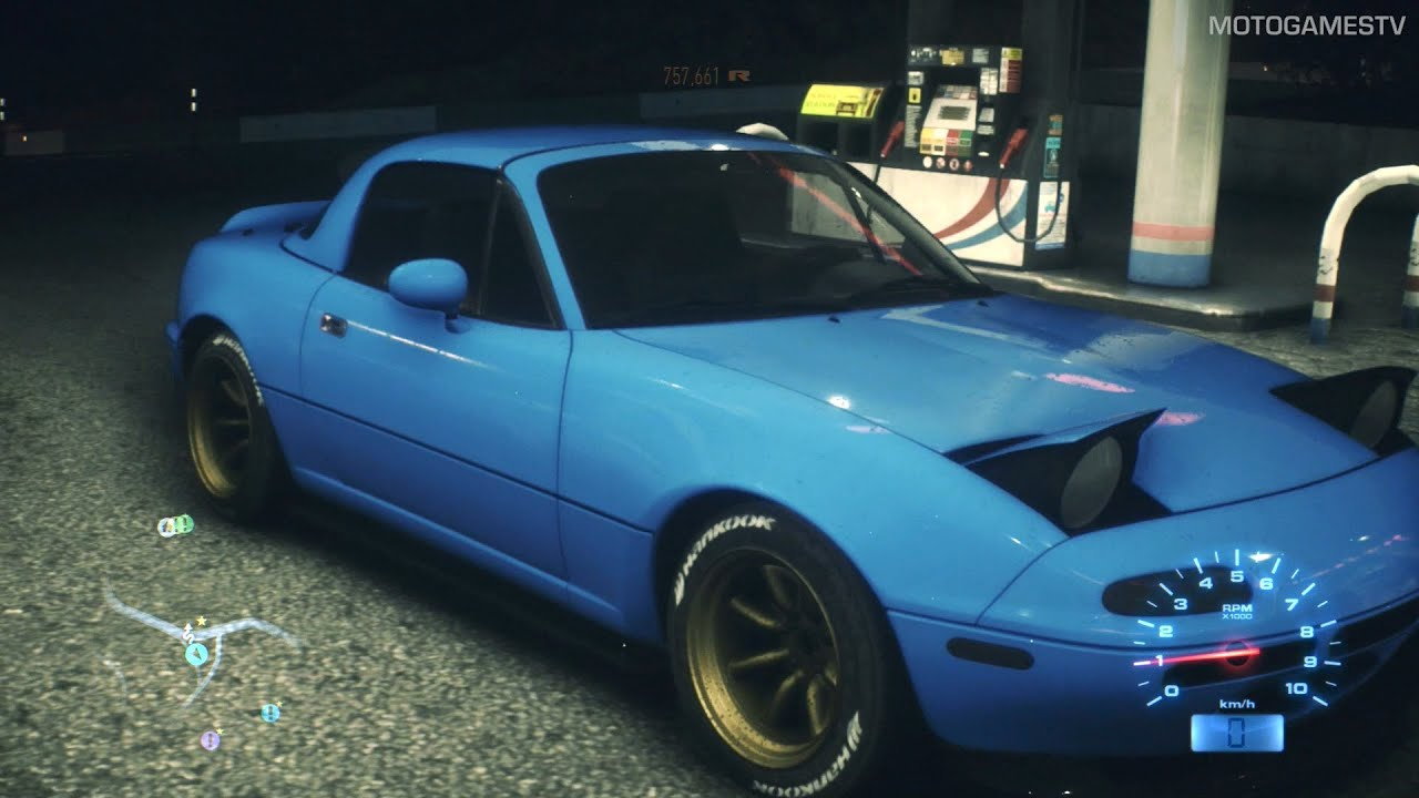 need for speed 2015 - mazda mx-5 1996 gameplay - youtube