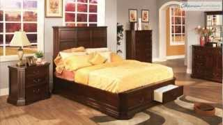 Foxhill Storage Bedroom Collection From Coaster Furniture