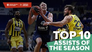 Turkish Airlines EuroLeague Top 10 Assists of the 2020-21 Season!