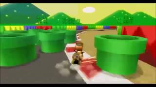 [MKWII TAS BKT] Impossible SNES Mario Circuit 3 - 1:34.695