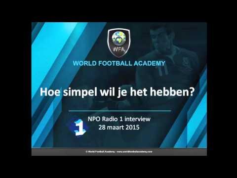 Interview NPO Radio 1: 'Hoe simpel wil je het hebben?' boek over voetbalpionier Raymond Verheijen