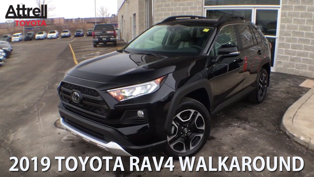 2019 Toyota Rav4 Awd Trail Edition Brampton On Attrell Toyota