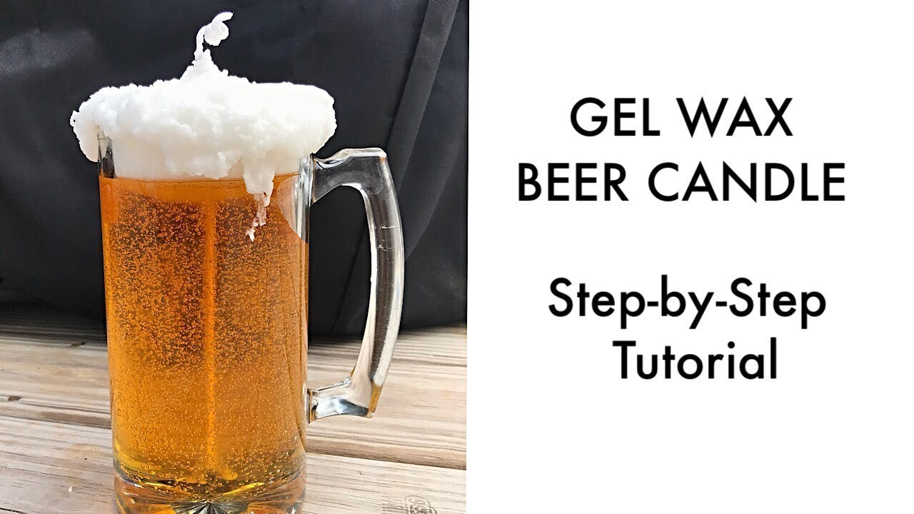 Beer Candle!! DIY guide to Gel Wax Beer Candles