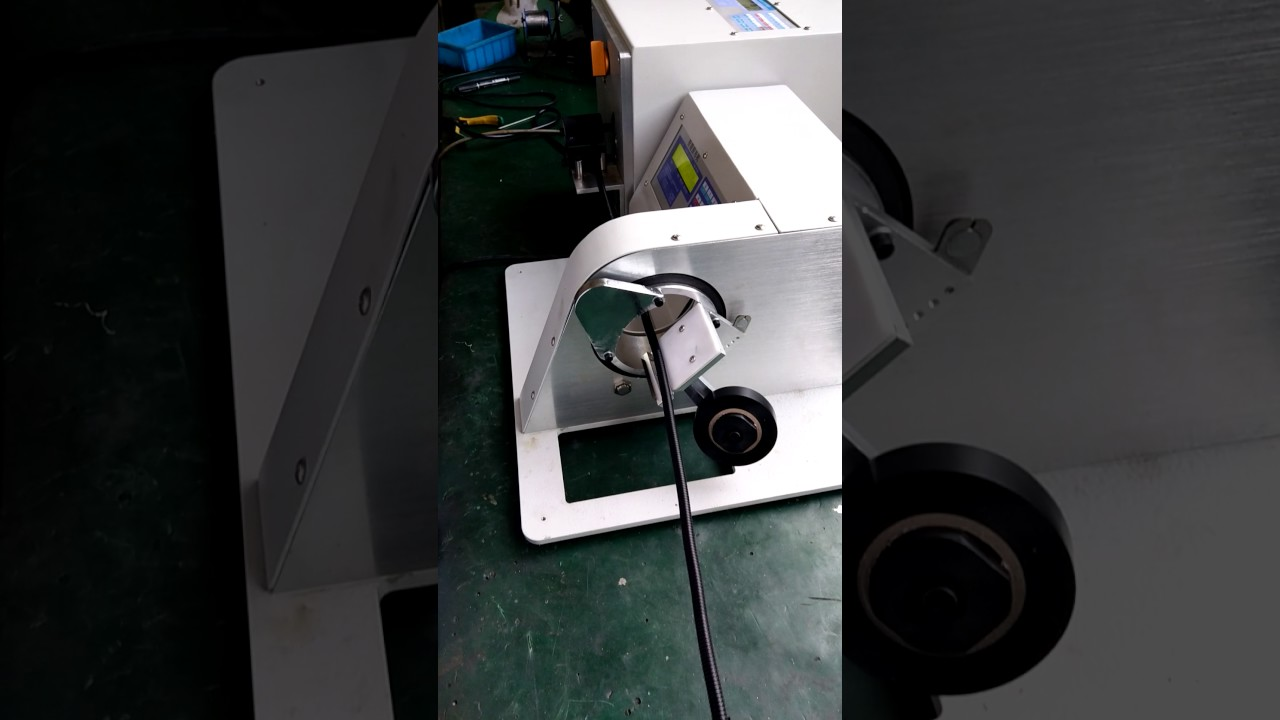 automotive hose wiring harness wrapping tape machine automatic wire harness taping machine [ 1280 x 720 Pixel ]
