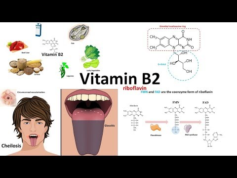 Vitamin B2 riboflavin: sources,structure and deficiency