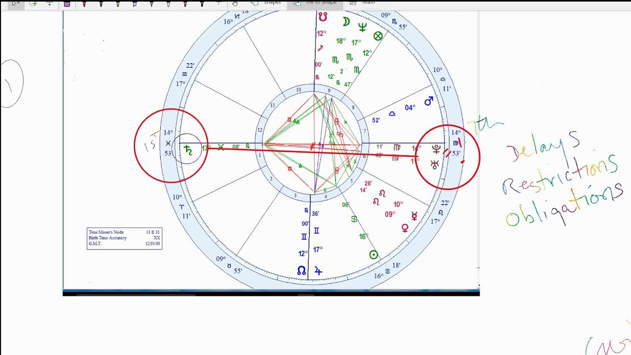 WILL I EVER MARRY? How to read a Chart like a PRO  Example Astrology  Reading from Jenny