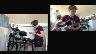 WHAT YOU GONNA DO??? - Bastille ft. Graham Coxon drum and bass cover